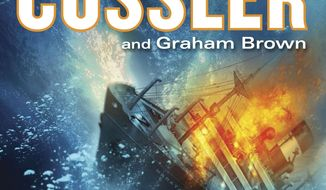 """This book cover image released by Putnam shows """"Ghost Ship,"""" by CLive Cussler and Graham Brown. (AP Photo/Putnam)"""