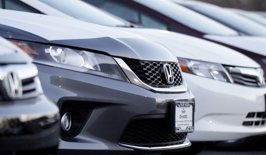 The Honda Accord. (AP Photo/Nam Y. Huh) ** FILE **
