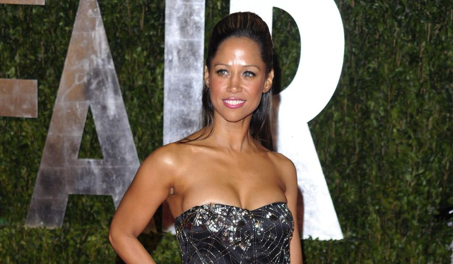 In this March 7, 2010 file photo, actress Stacey Dash arrives at the Vanity Fair Oscar party in West Hollywood, Calif. (AP Photo/Peter Kramer, File)