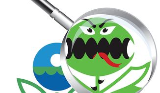 EPA Monster Illustration by Greg Groesch/The Washington Times