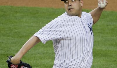 New York Yankees pitcher Vidal Nuno delivers against the Minnesota Twins during the first inning on Friday, May 30, 2014, in New York. (AP Photo/Julie Jacobson)