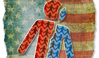 American Populism Illustration by Greg Groesch/The Washington Times