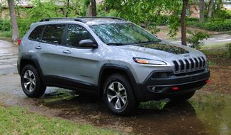 2014 Jeep Cherokee. Photo by Russell Dandridge