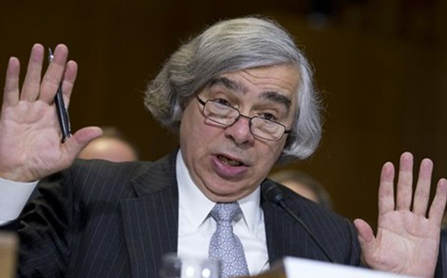 Energy Secretary Ernest Moniz (Associated Press) **FILE**