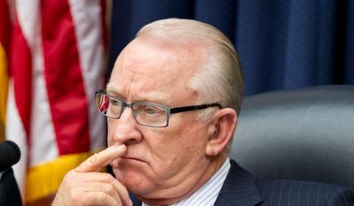 "**FILE** House Armed Services Committee Chairman Rep. Howard ""Buck"" McKeon, California Republican, presides over the committee's hearing on Syria on April 19, 2012, on Capitol Hill in Washington. (Associated Press)"