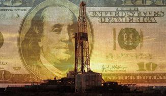Fracking Benefits Illustration by Greg Groesch/The Washington Times