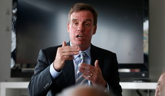 Sen. Mark Warner, Virginia Democrat, promised to study the new environmental rules putting coal-fired power plants on the road to extinction and listen to stakeholders. (associated press)