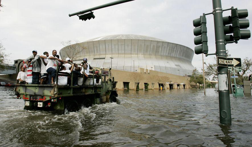Timeline Hurricane Katrina History 2005 New Orleans