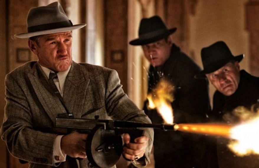 "Sean Penn and Holt McCallany in ""Gangster Squad."" (Warner Bros/Wilson Webb)"