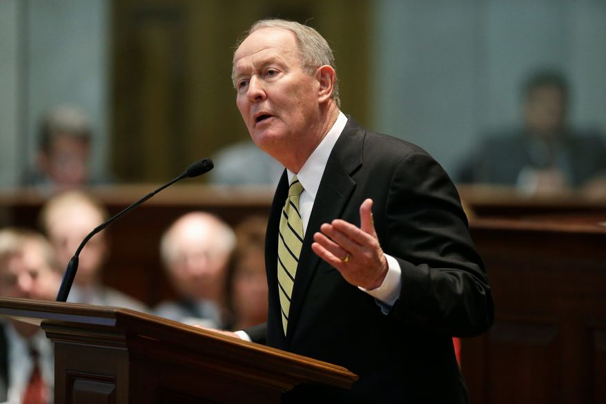"Sen. Lamar Alexander, Tennessee Republican, said the GOP should work to repeal the Affordable Care Act ""step by step,"" saying the speed of the changes will depend on how large the Republican majority is in the House. Others still argue for a full repeal of the presidents signature health law. (Associated Press Photographs)"
