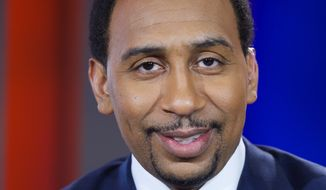 ESPN Studios: Commentator Stephen A. Smith. (Photo by: Rodrigo Varela/ESPN images) ** FILE **
