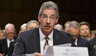 Deputy Attorney General James Cole told the Senate intelligence committee that the administration is looking to end bulk data collection while allowing for enough flexibility to get large volumes of records if they are necessary to investigations. (Associated Press)