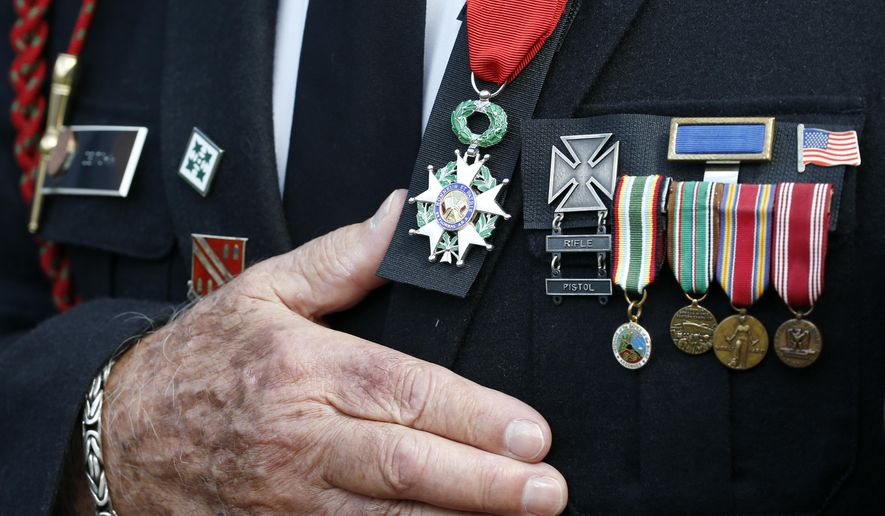 The Greatest Generation of World War II reminds us of simple truths unchanged by time: patriotism, faithfulness, loyalty, duty, honor, respect and commitment, writes Christy Stutzman. (AP Photo/Alex Brandon)