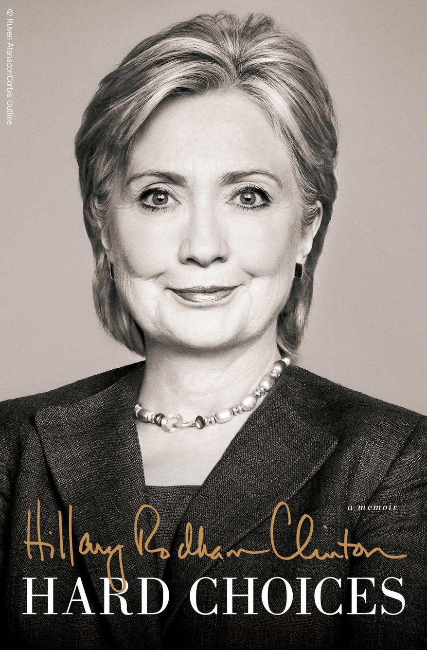 Hard Choices, Hillary Clinton's new memoir. (Simon & Schuster)