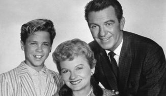 The cast from the 1950s hit TV show 'Leave it to Beaver.' ** FILE **