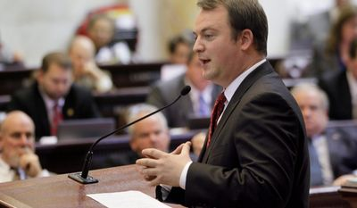 Arkansas state Rep. John Burris (above), a Republican, is under fire from primary challenger Scott Flippo for his role in working out a compromise which leveraged federal money under Obamacare to purchase private insurance for low-income residents. Mr. Flippo has called Mr. Burris a cheerleader for Obamacare, despite the fact that the incumbent reportedly once blocked the entire budget of a state agency in an effort to stop the agency from setting up the online health insurance exhanged that is requred by law.