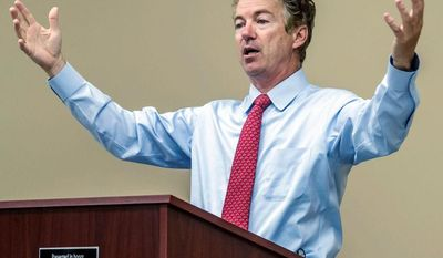 republican Risker: Sen. Rand Paul has taken a big step toward immigration reform by forging an alliance with anti-tax activist Grover Norquist. (Associated Press)