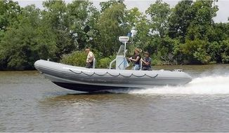 The Pentagon paid $3 million in 2010 to buy eight patrol boats to help Afghan National Security Forces secure their country's Amu Darya river border, but the boats were never given to the Afghan military.