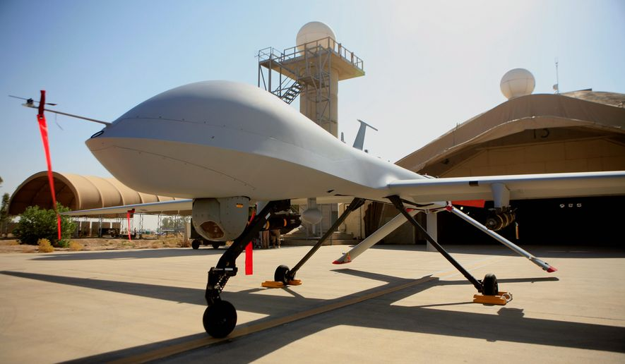 Drones are about to be used for much more than military missions, and states already are preparing. (ASSOCIATED PRESS)