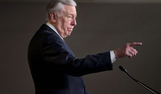 """House Minority Whip Steny Hoyer, Maryland Democrat, is among those in his party who does not believe the Republicans have a substitute for Obamacare. """"They've had five years to put a bold alternative on the floor,"""" Mr. Hoyer said. (Associated Press)"""