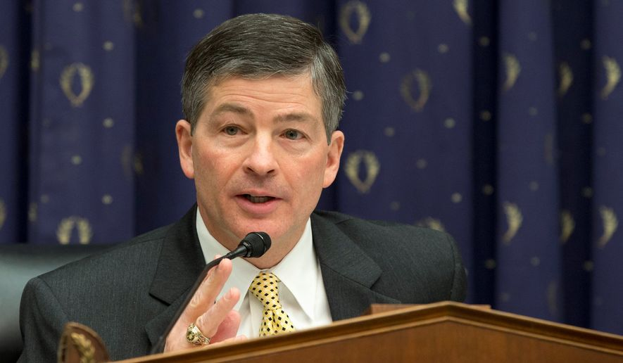 House Financial Service Committee Chairman Rep. Jeb Hensarling, Texas Republican. (Associated Press)