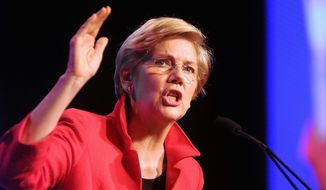Progressive populist: To her supporters, Sen. Elizabeth Warren gives a voice to frustrated voters who feel the leaders of both major political parties are too closely aligned with the rich and powerful. (Associated Press)
