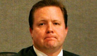 Corey Stewart, the chairman of the Prince William County Board of Supervisors, told The Washington Times that about 10 percent of those it originally turned over to U.S. Immigration and Customs Enforcement over the last seven years have been re-arrested by county police for new crimes after they were released. (Associated Press)