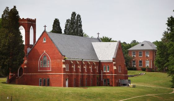 The government's plan to temporarily shelter hundreds of minors illegally crossing the Southwest border at Saint Paul's College in Lawrenceville, Virginia is on hold. (Associated PRess)