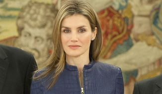 Princess Letizia of Spain (associated press)