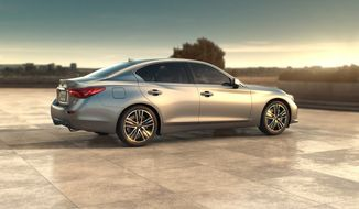 The 2014 Infiniti Q50. Photo by Russell Dandridge