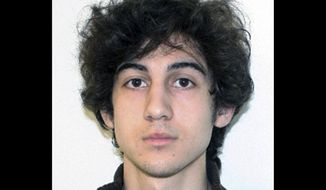 ** FILE ** This file photo provided April 19, 2013, by the Federal Bureau of Investigation shows Boston Marathon bombing suspect Dzhokhar Tsarnaev. During a hearing Wednesday, June 18, 2014 a federal judge in Boston warned current and ex-members of the prosecution team in the case from speaking publicly. Tsarnaev's trial is scheduled to begin in November. (AP Photo/Federal Bureau of Investigation, File)