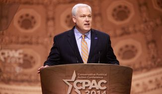 In the wings: Matt Schlapp, who has broad experience and connections in politics, is expected to be chairman of the American Conservative Union. (Gage Skidmore)
