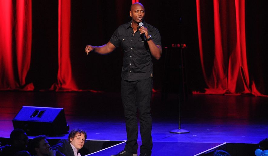 Dave Chappelle performs at Radio City Music Hall on Wednesday, June 18, 2014, in New York City. (Photo by Brad Barket /Invision/AP) ** FILE **
