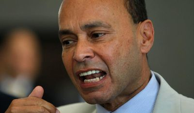"""I do not see the countries of Central America stepping up to take responsibility for the danger, dysfunction, death and despair in their own cities and towns,"" Rep. Luis V. Gutierrez, Illinois Democrat, said Thursday. (Associated Press)"