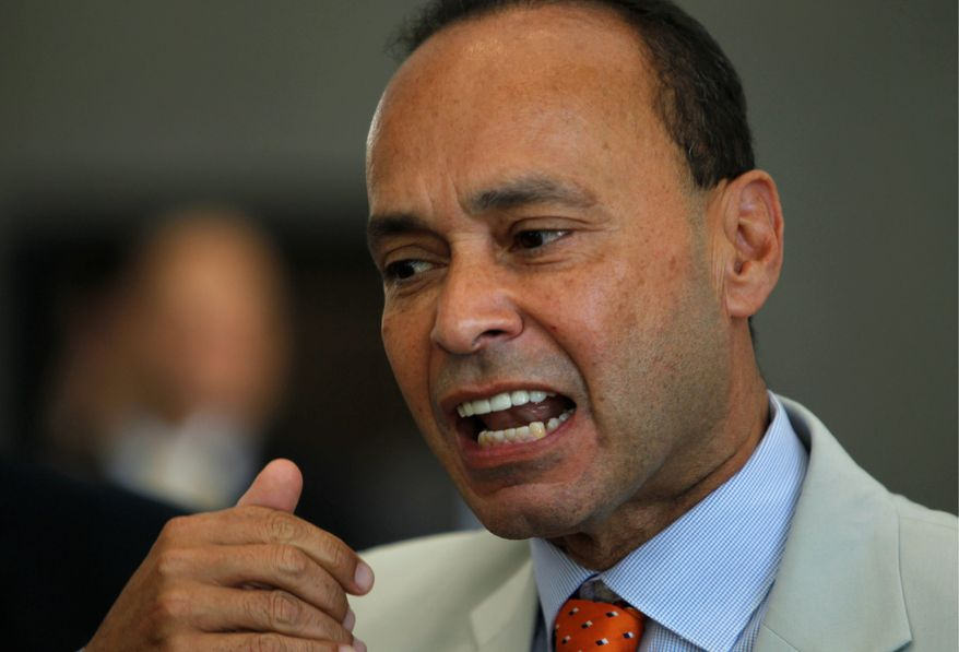 """""""I do not see the countries of Central America stepping up to take responsibility for the danger, dysfunction, death and despair in their own cities and towns,"""" Rep. Luis V. Gutierrez, Illinois Democrat, said Thursday. (Associated Press)"""