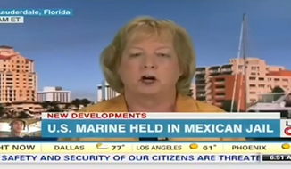 The mother of U.S. Marine Sgt. Andrew Tahmooressi, who has been jailed in Mexico since March 31, says she has not heard from the Obama administration since her son's imprisonment. (Fox News/Washington Free Beacon)