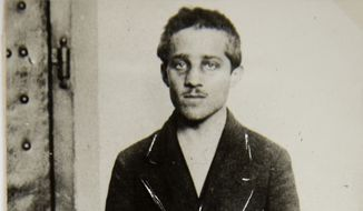 This undated photo provided by the Historical Archives Sarajevo shows Bosnian Serb Gavrilo Princip. On June 28, 1914, Gavrilo Princip fired the shots that killed Archduke Franz Ferdinand of Austria and his wife Sophie, during a visit to the Bosnian capital of Sarajevo in 1914. (AP Photo/Historical Archives Sarajevo)