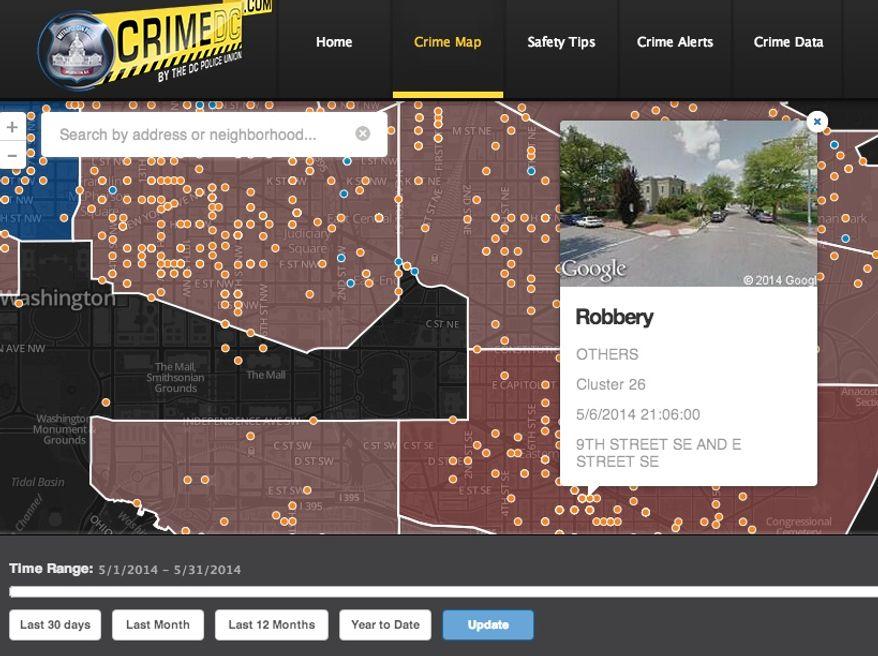 (Screen grab of http://crimedc.com/)