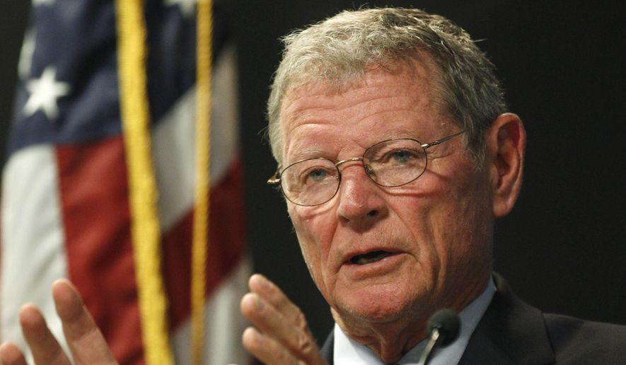 U.S. Sen. Jim Inhofe, R-Okla. (AP Photo/Sue Ogrocki, File)