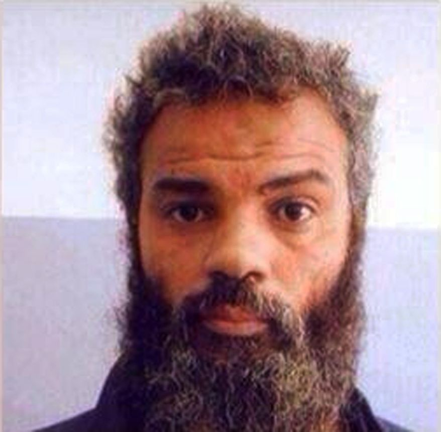 FILE - This undated file image obtained from Facebook shows Ahmed Abu Khattala, an alleged leader of the deadly 2012 attacks on Americans in Benghazi, Libya, who was captured by U.S. special forces on Sunday, June 15, 2014, on the outskirts of Benghazi. Abu Khattala was a prominent figure in the eastern city of Benghazi's thriving circles of extremists, popular among young radicals for being among the most hard-core and uncompromising of those calling for Libya to be ruled by Islamic Shariah law. But he was always something of a lone figure.  (AP Photo, File)