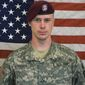Sgt. Bowe Bergdahl is the only U.S. troop to have been taken hostage by the Taliban in the long, hard-fought Afghanistan War. (U.S. Army Via Associated Press)