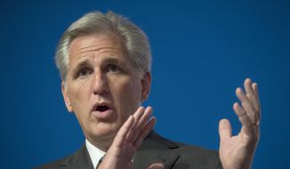 House Majority Leader Kevin McCarthy: Republicans want to send a message to Harry Reid and other Senate Democrats. AP Photo/Molly Riley, File)