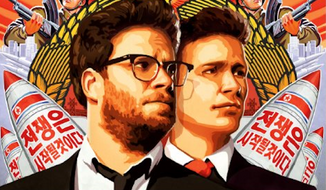 "A spokesman for North Korean leader Kim Jong-un said Friday that the Hollywood comedy ""The Interview,"" with Seth Rogen and James Franco that shows the autocrat's fake assassination, is indicative of American society's ""desperation."" (CTMG, Inc.)"