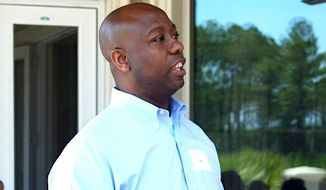 Sen. Tim Scott of South Carolina is among a half-dozen Republicans who have proposed recent legislation to help working families. The legislation, however, is ignored by Democrats. (Sen. Tim Scott)