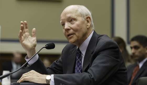"""IRS Commissioner John Koskinen said in an email to employees that bonuses were an appropriate way for taxpayers to reward the agency that polices them. """"I believe that rewarding our high-performing employees is a vital investment for our nation's tax system,"""" he said. (Associated Press)"""