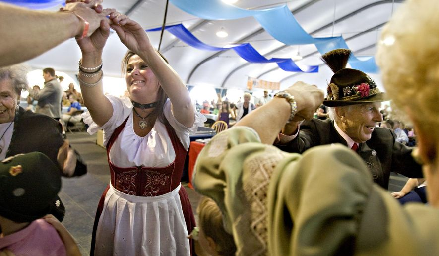 Bavarian pretzel-makers are threatening to strike during Oktoberfest if their wage-hike demands are not met. (AP Photo/The Deseret News, Mike Terry)
