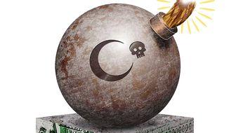 US Sponsored Terrorism Illustration by Greg Groesch/The Washington Times