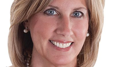 This is an undated photo of Claudia Tenney provided by the Claudia Tenney for Congress campaign. The state assemblywoman is challenging incumbent Rep. Richard Hanna in the 22nd Congressional District Republican primary, Tuesday, June 24, 2014. The district covers Chenango, Cortland, Madison and Oneida counties and parts of Broome, Herkimer, Oswego and Tioga. (AP Photo/Claudia Tenney for Congress)