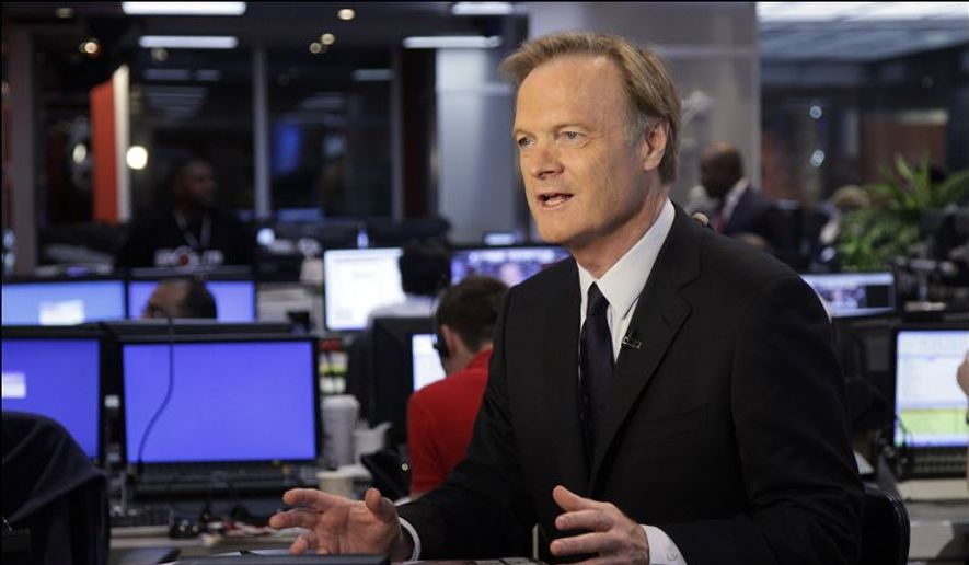 """MSNBC host Lawrence O'Donnell returned to his show """"Last Word"""" on Monday night after recovering from a car accident, offering thanks to his political foe, David Koch, for contributing to the hospital that took such good care of him. (Associated Press) ** FILE **"""