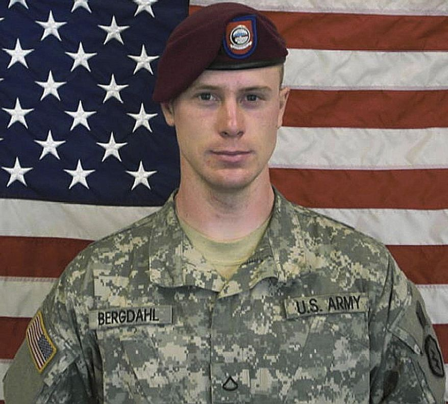 ** FILE ** This undated file photo provided by the U.S. Army shows Sgt. Bowe Bergdahl. (AP Photo/U.S. Army, File)